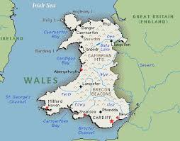 where is wales on the map eye on wales