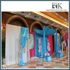 Indian Wedding Decorations Wholesale Wholesale Pipe And Drape Lowest Price Indian Wedding Mandap Stool
