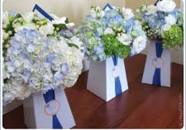 Personalized Flower Vases Blumebox Wedding Bouquet And Special Event Centerpiece Display Vases
