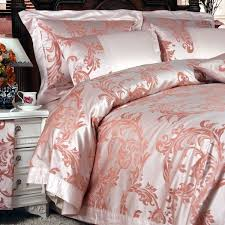 Upscale Bedding Sets 8 Pieces Silk Luxury Bedding Sets Set38