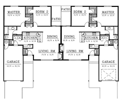 Multi Family House Plans Duplex 72 Best Images About Duplex Floor Plans On Pinterest Traditional