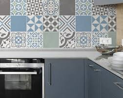 kitchen backsplash stickers tile decal etsy