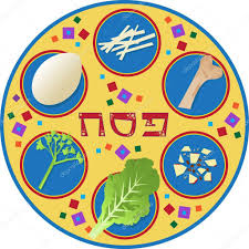pesach plate passover plate stock vector bilhagolan 40233659