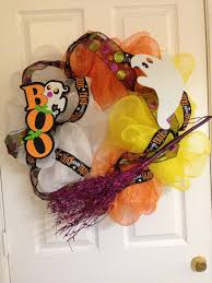 candy corn halloween wreath boo the festivity closet