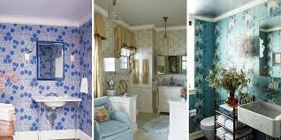 wallpaper ideas for small bathroom bold wallpaper small bathroom inspirational design home ideas
