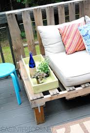 Diy Patio Cushions Diy Outdoor Pallet Sofa Jenna Burger