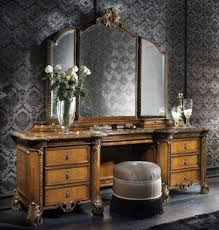 antique bedroom vanity with mirror home design ideas and pictures