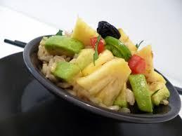 cuisine salade de riz salade de riz germé la recette facile par toqués 2 cuisine
