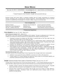 Sample Core Competencies For Resume by Business Analyst Resume Template 11 Free Word Excel Pdf Free Ba