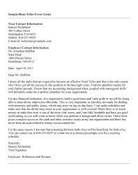 sample resume for teller bank head teller sample resume 10 head teller application letter