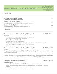 resume with education free resume templates