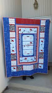 14 best hockey quilts images on pinterest