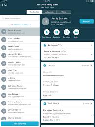 Resume App Mobile Recruiting Apps Yello