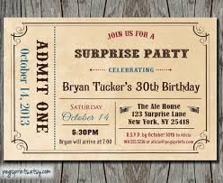 6 best images of free printable admit one invitations admit one