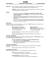 resume template sle student of the month sle resume no experience stupendous job exlesk fast food