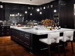 Black Kitchen Cabinets Design Ideas Astounding Modern Black Kitchen Cabinets Designs Callumskitchen