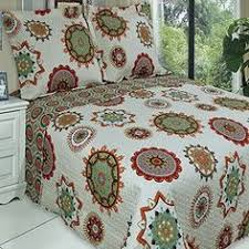 Amazon Com Modern Teen Girls by Retro Boho Quilt Set With Shams Print Geometric Floral Pa Https