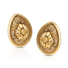 gold earrings for marriage buy wedding jewellery design online price starting rs 11 324 in india