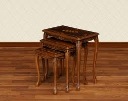 small nest of tables beautiful import interior aper son rakuten global market italy small