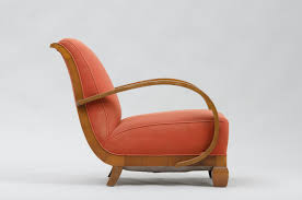 Art Deco Chaise Art Deco Armchair In Walnut For Sale At Pamono