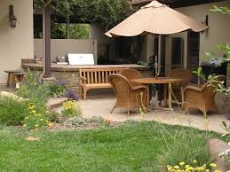 tempting backyard patio design ideas to accompany your tea time