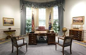 office design the oval office in the white house replica at