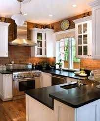 brick backsplash in kitchen kitchen backsplash tile brick pattern with faux brick kitchen