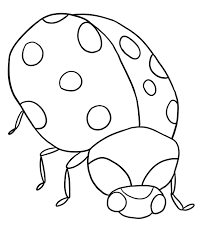 ladybug coloring page for thanksgiving coloring pages for third