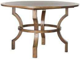 Round Dining Table Oak Amh6644a Dining Tables Furniture By Safavieh