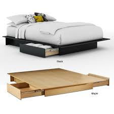 Contemporary Platform Bed Bedroom Incredible Gamma Modern Bed With Storage Platform