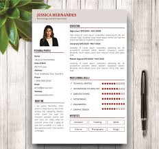 clean resume template cover letter resume templates creative