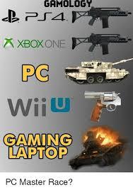 Pc Master Race Meme - gamology xbox one wii u gaming laptop pc master race video