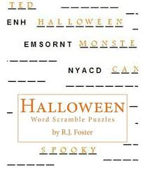 Printable Halloween Mad Libs by Free Word Scrambles Worksheets Activity Shelter Top 8