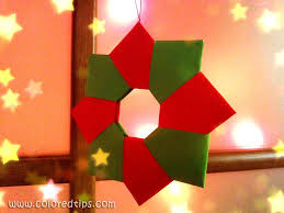 diy ornament paper wreath origami wreath idunn goddess