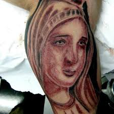 26 best 25 inspirational virgin mary tattoos images on pinterest
