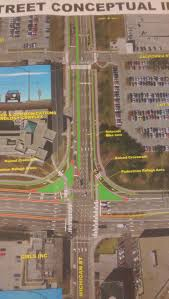 Iupui Map The New And U201cimproved U201d West Street Urban Indy