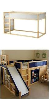 Ikea Bunk Bed Frame Kids Hand Made Bunk Bed Hammock Made With That Ikea Bunk Bed With