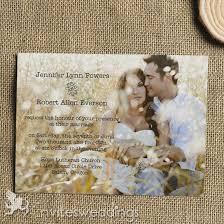 cheap simple rustic photo wedding invitations iwi312 wedding