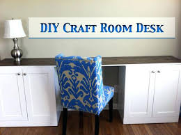 Diy Craft Desk With Storage Craft Desk With Storage Now Created Storage For The Following
