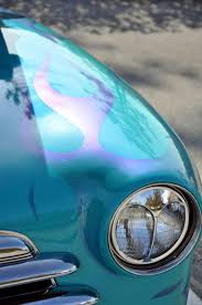 turquoise car ghost flames color transportation pinterest