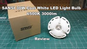 250 watt equivalent led light bulbs sansi 30w cool white led light bulb 6500k 3000lm 250 watt equivalent
