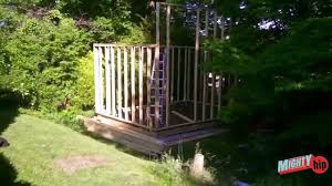 shed music studio build diy video 2 youtube