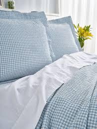 seersucker bedding lightweight cotton bedding
