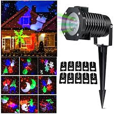 Outdoor Projection Lights For Christmas Halloween Christmas Outdoor Indoor Night Projector Lights