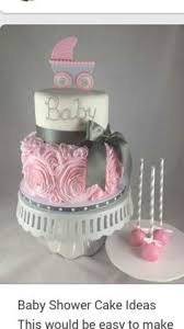 20 deliciosos y divertidos pasteles para un baby shower shower