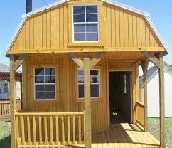graceland 12 x 24 deluxe lofted barn cabin floor plan treated
