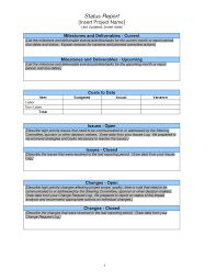 monthly report template ppt project status report form pictures hd nateandjenna
