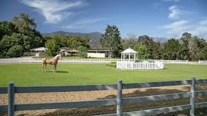 Oprah Winfrey Homes by Oprah Lands A 28 Million Equestrian Ranch In Montecito At Auction