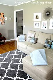 traditional living room rug ideas in grey made of cowhide