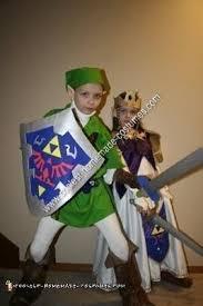 Zelda Costumes Halloween Coolest Diy Zelda Link Child Halloween Couple Costume Ideas